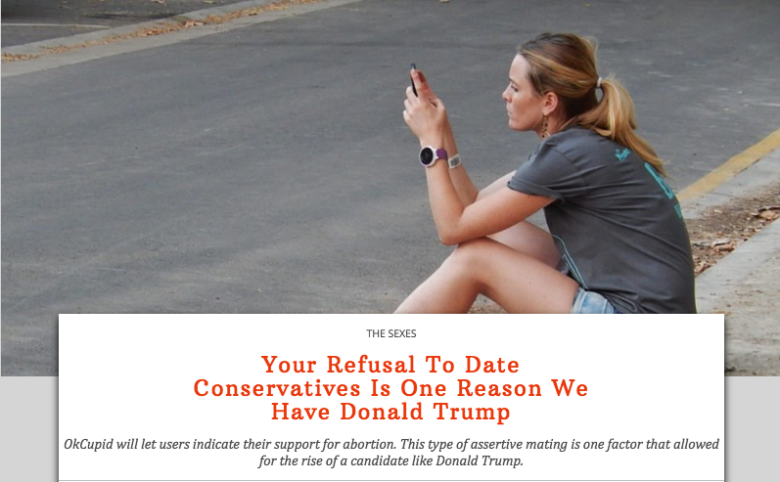 Dating a conservative guy